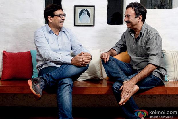 Abhijat Josh and Rajkumar Hirani