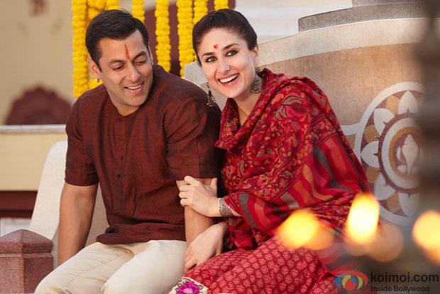 Salman Khan and Kareena Kapoor Khan in a still from movie 'Bajrangi Bhaijaan'