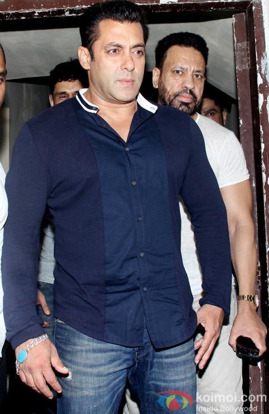 Salman Khan Snapped At PVR Juhu