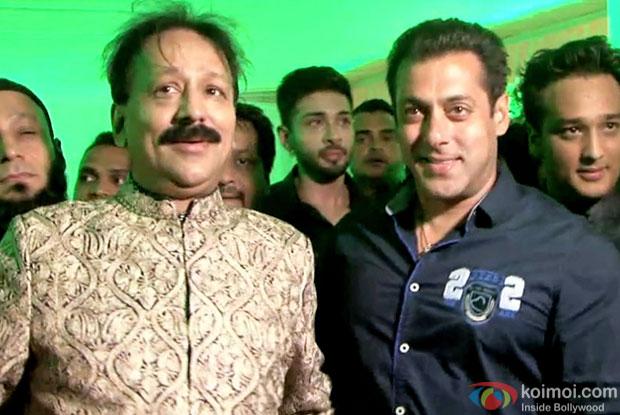 Salman Khan At Baba Siddique's Iftar Party