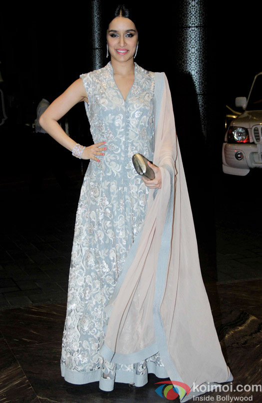 Shraddha Kapoor attend Shahid Kapoor and Mira Rajput's reception