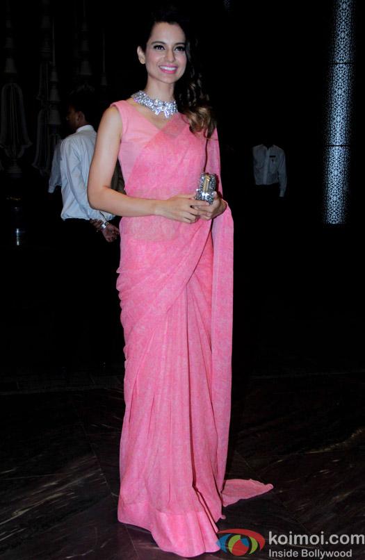 Kangana Ranaut attend Shahid Kapoor and Mira Rajput's reception