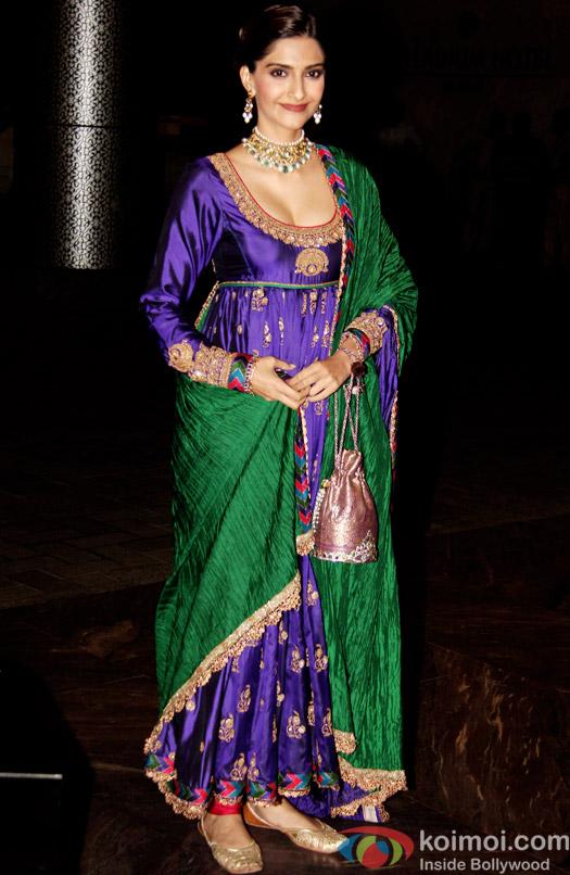 Sonam Kapoor attend Shahid Kapoor and Mira Rajput's reception