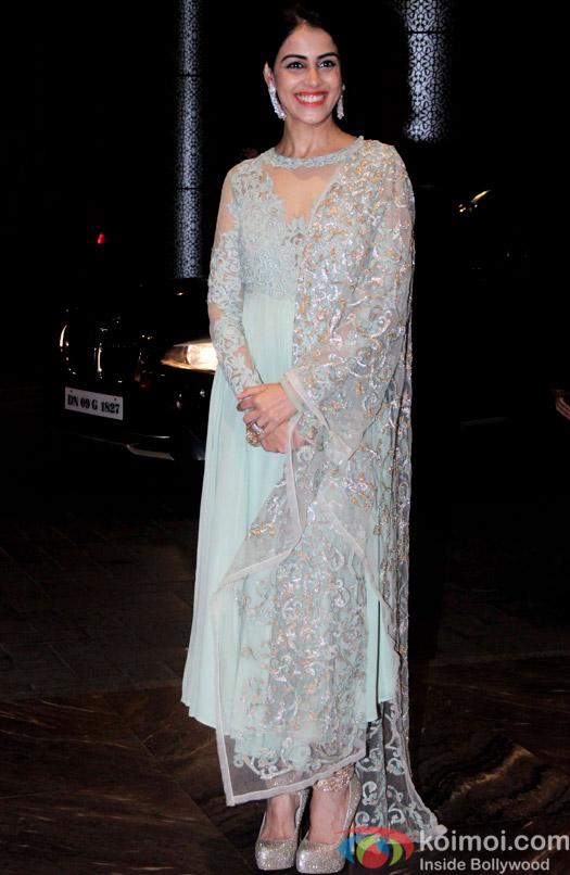 Genelia D'Souza attend Shahid Kapoor and Mira Rajput's reception