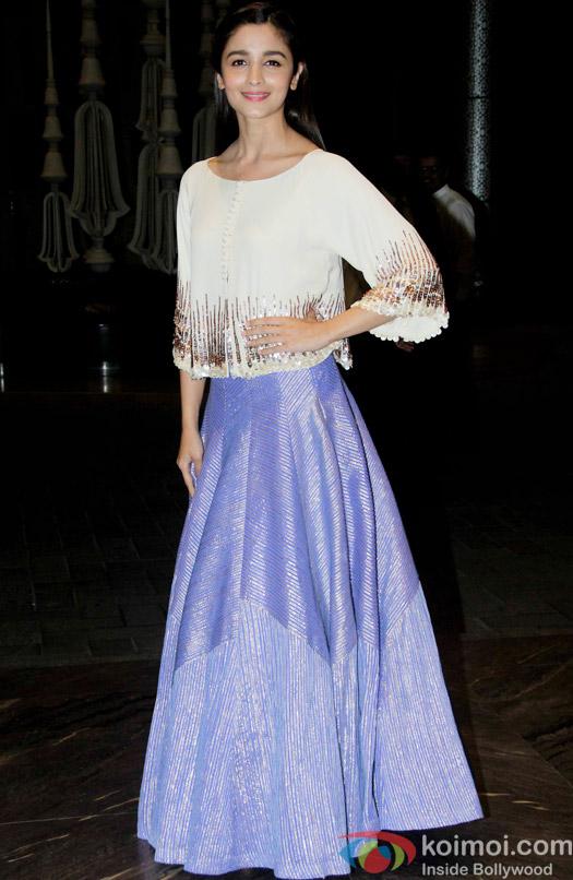 Alia Bhatt attend Shahid Kapoor and Mira Rajput's reception