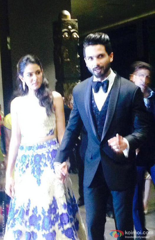 Shahid Kapoor-Mira Rajput's Wedding Reception in Mumbai