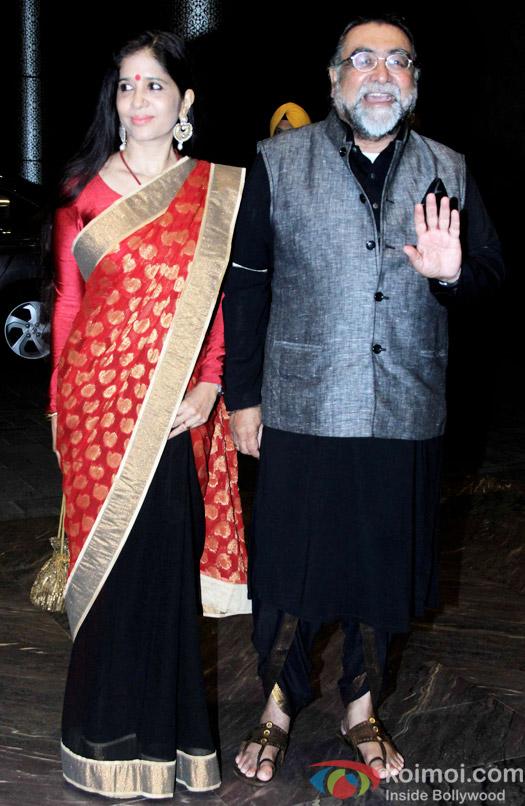 Prahlad Kakkar at the Shahid Kapoor-Mira Rajput's Wedding Reception in Mumbai