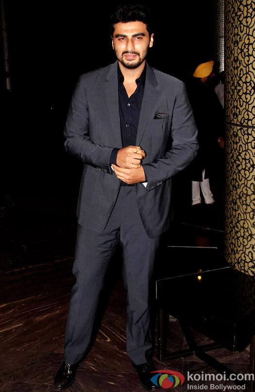 Arjun Kapoor at the Shahid Kapoor-Mira Rajput's Wedding Reception in Mumbai