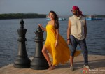 Amy Jackson and Akshay Kumar in Singh Is Bling Movie Stills Pic 2