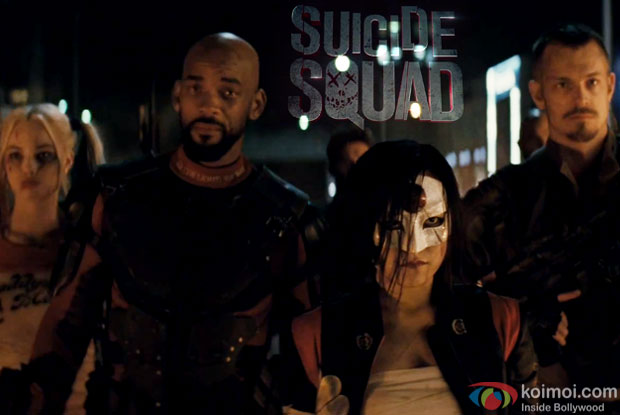 A still from movie 'SUICIDE SQUAD'