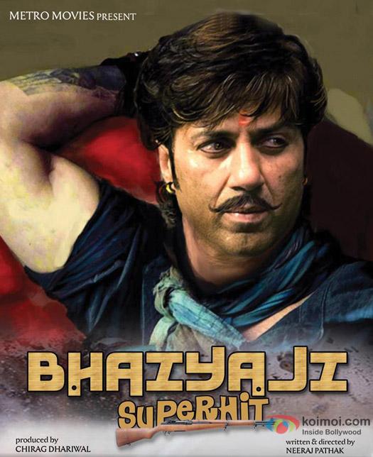 Sunny Deol starrer Bhaiya ji... Superhitt Movie Poster
