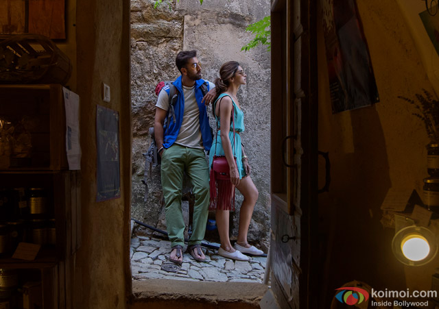 Ranbir Kapoor and Deepika Padukone in Tamasha Movie Stills Pic 1