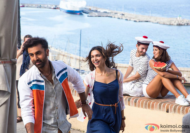 Ranbir Kapoor and Deepika Padukone in Tamasha Movie Stills Pic 2