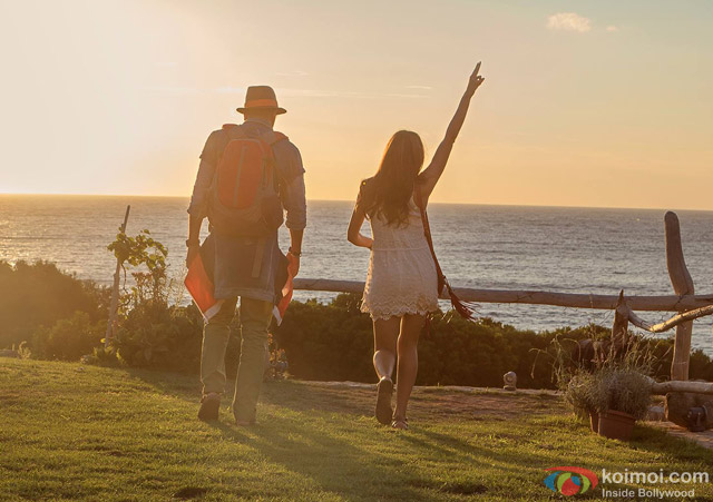 Ranbir Kapoor and Deepika Padukone in Tamasha Movie Stills Pic 3