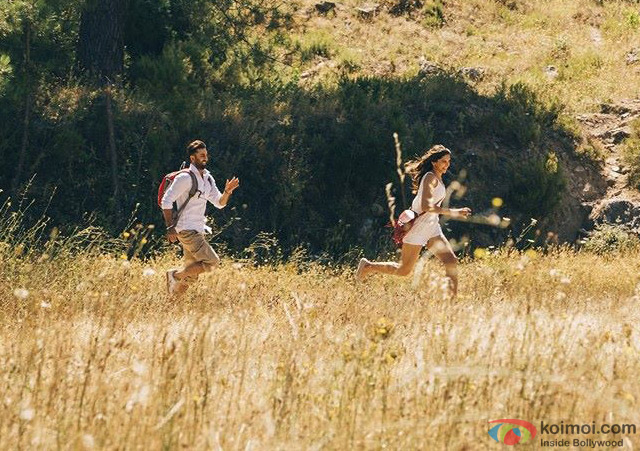 Ranbir Kapoor and Deepika Padukone in Tamasha Movie Stills Pic 5
