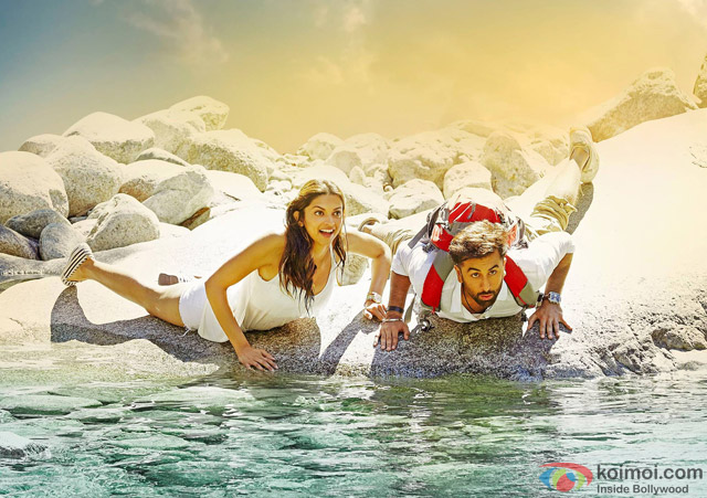 Deepika Padukone and Ranbir Kapoor in Tamasha Movie Stills Pic 1