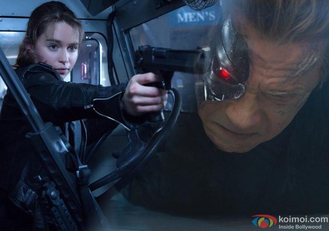 still from movie 'Terminator Genisys'