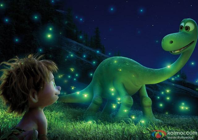 still from movie 'The Good Dinosaur'