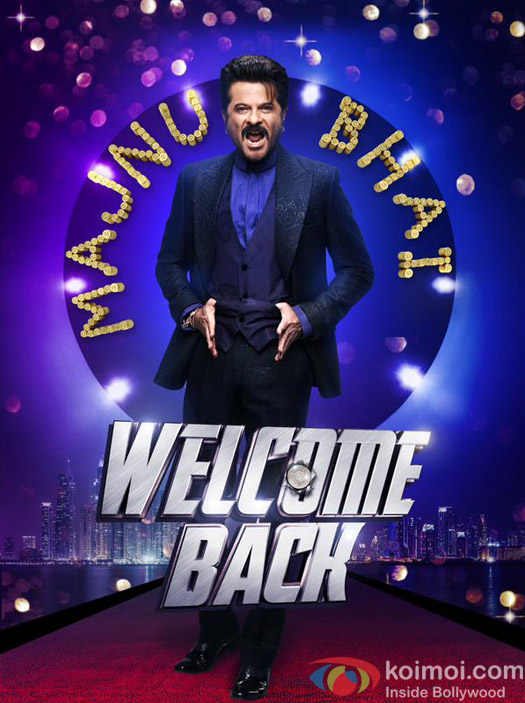 Anil Kapoor in a still from 'Welcome Back' movie poster