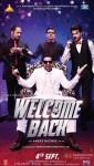 John Abraham, Nana Patekar, Paresh Rawal and Anil Kapoor in a Welcome Back Movie Poster