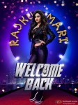 Sakshi Maggo in a Welcome Back Movie Poster