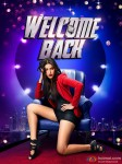 Shruti Haasan in a Welcome Back Movie Poster