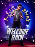 John Abraham in a Welcome Back Movie Poster