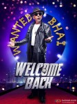 Naseeruddin Shah in a Welcome Back Movie Poster