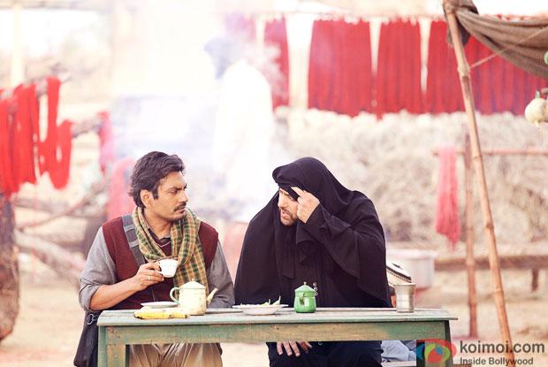 Nawazuddin Siddiqui and Salman Khan in a still from movie 'Bajrangi Bhaijaan'