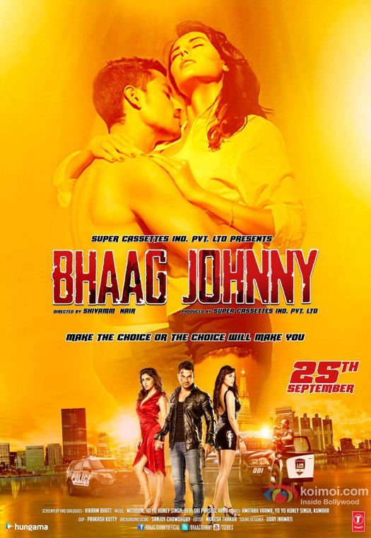 Kunal Khemu, Zoa Morani and Mandana Karimi starrer Bhaag Johnny Movie Poster 3