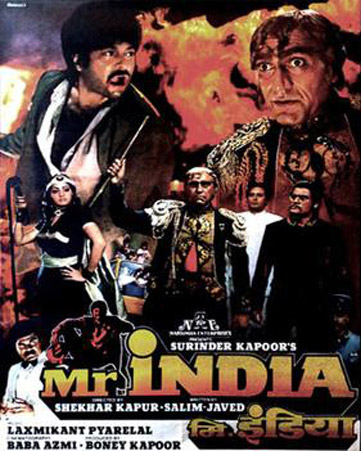 Mr India (1987) Movie Poster