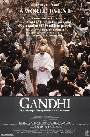 Gandhi (1982) Movie Poster