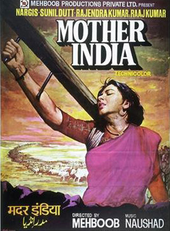 Mother India (1957) Movie Poster
