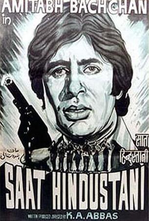 Saat Hindustani (1969) Movie Poster