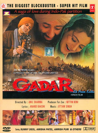 Gadar: Ek Prem Katha (2001) Movie Poster