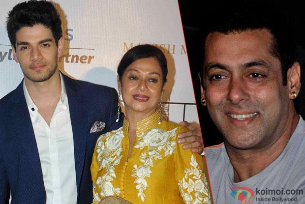 Sooraj Pancholi, Zarina Wahab and Salman Khan