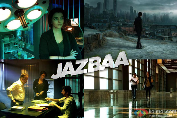 Aishwarya Rai Bachchan and Irrfan Khan in a still from movie 'Jazbaa'