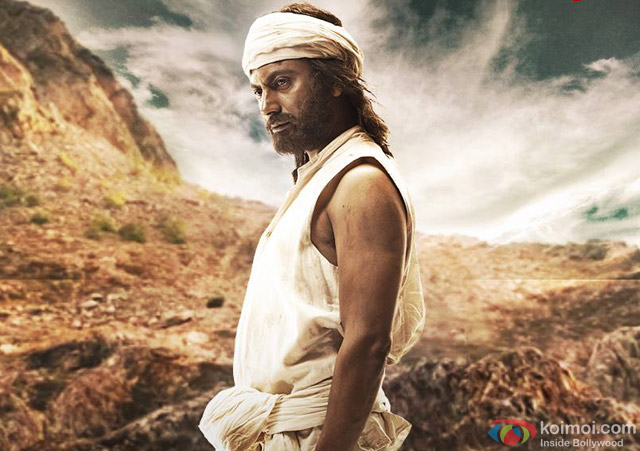 Nawazuddin Siddiqui in a still from movie 'Manjhi The Mountain Man'