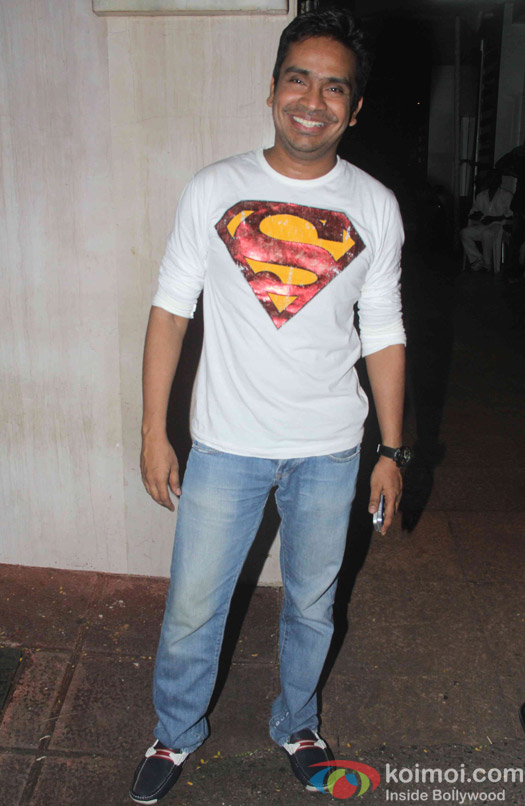 Mushtaq Sheikh during the Ekta Kapoor's party