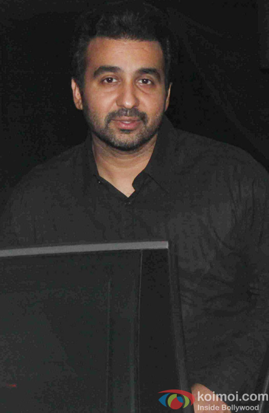Raj Kundra during the Ekta Kapoor's party