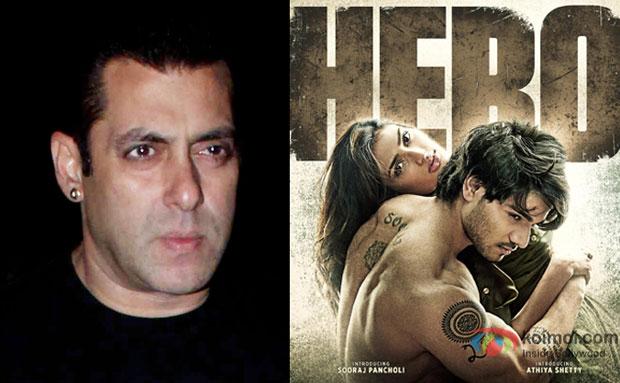 Salman Khan and Hero movie poster