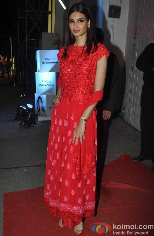 Diana Panty during fashion designer Manish Malhotra's show at the Lakme Fashion Week Winter Festive 2015