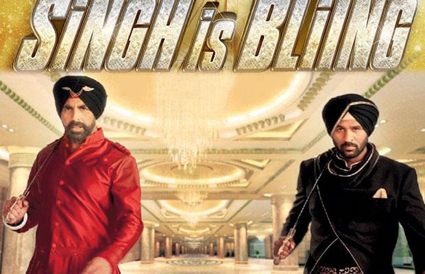 Akshay Kumar and Prabhu Deva in a still from movie 'Singh Is Bliing'
