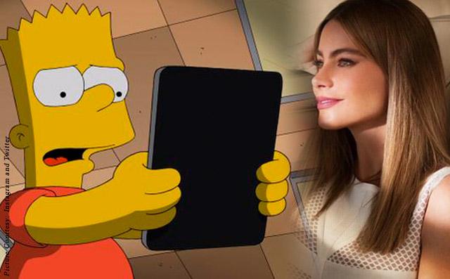 Sofia Vergara To Guest Star In Simpsons As Bart's Teacher