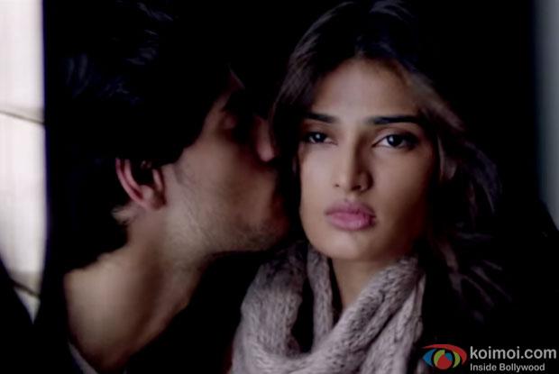 Sooraj Pancholi and Athiya Shetty in a still from movie 'Hero'