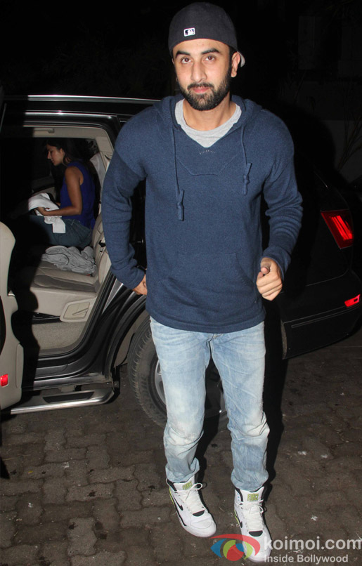 Ranbir Kapoor during the special screening of movie Phantom