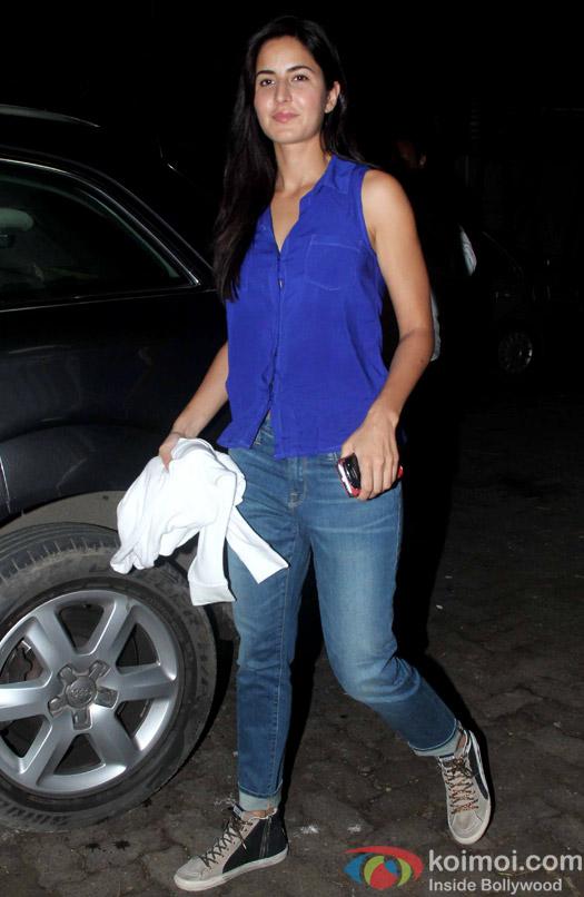Katrina Kaif during the special screening of movie Phantom