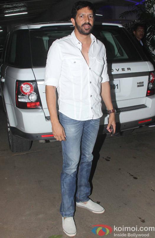 Kabir Khan during the special screening of movie Phantom