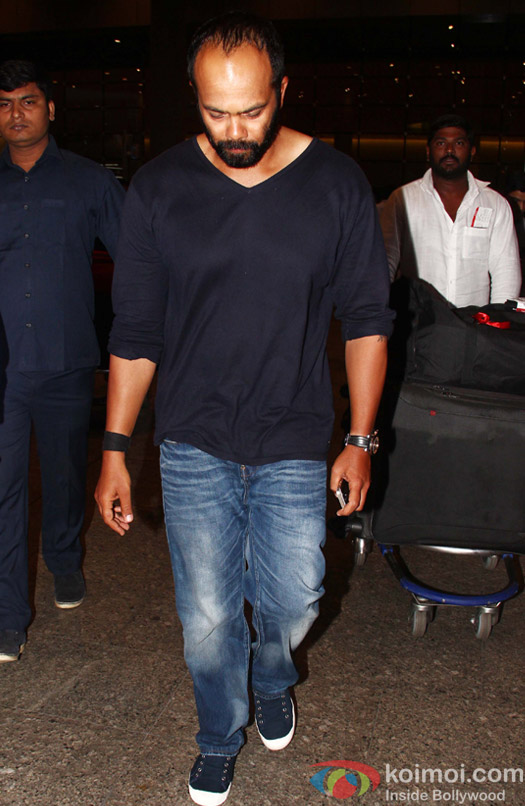 Rohit Shetty Return from 'Dilwale' Shoot