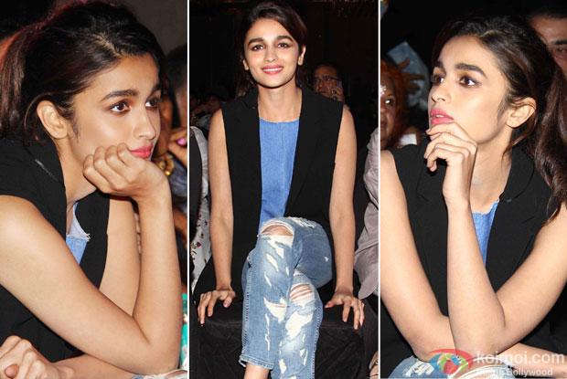 Alia Bhatt at trailer launch of wedding pullav